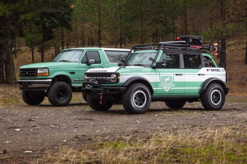 Filson and Ford Look to Tackle Forest Fires With New Wildland Fire Rig Bronco