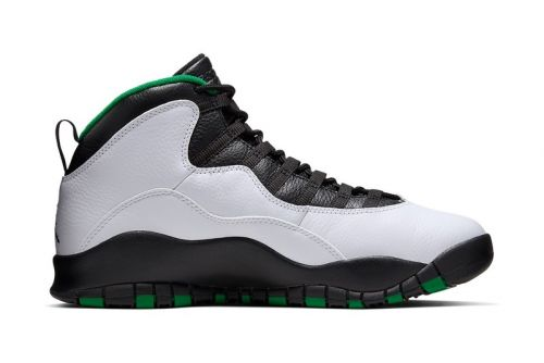 """Pay Tribute to the SuperSonics With the Air Jordan 10 """"Seattle"""""""
