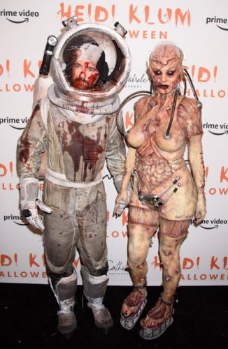 Heidi Klum's Over-the-Top Halloween Costumes Proves She's the Queen of Dressing Up