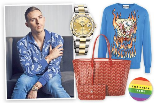 Adam Rippon's favorite things, from 'perfect butt' jeans to arm bling
