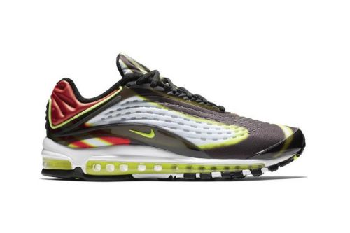 "Nike's Air Max Deluxe Receives a ""Volt/Habanero Red"" Makeover"