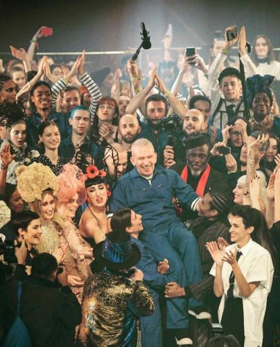 Jean Paul Gaultier's final Couture show was a wild, riotous party
