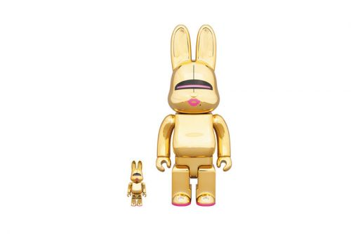 Hajime Sorayama Teams up with Medicom Toy on Gold BE RBRICK & R BRICK Figures
