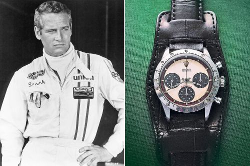 How Rolex's Daytona watch became an icon - with some help from Paul Newman
