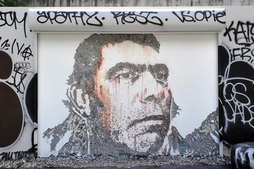 VHILS to Launch First Wynwood Walls Solo Show at Art Basel 2018