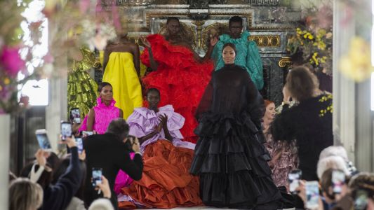 Pierpaolo Piccioli Took 'Florals for Spring' to A New Level for Valentino Couture