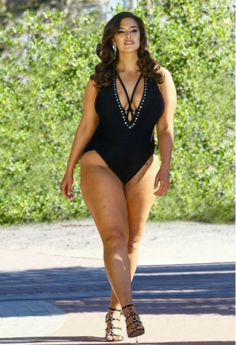 Ashley Graham's Latest Swimsuits for All Campaign Features Zero Retouching