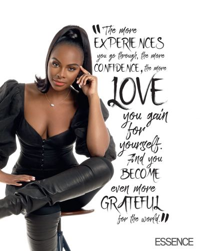Tika Sumpter Is A Mom Who Teaches Beauty Lessons To Her Girls On And Off Screen
