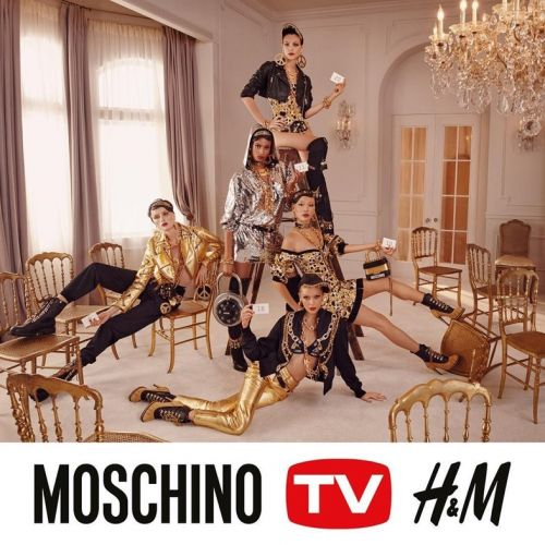 Your first look at Jeremy Scott's Moschino x H&M collection