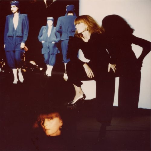A Tribute to Sonia Rykiel's Famous Red Hair
