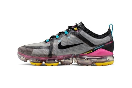 Nike's Latest Air VaporMax 2019 Blends Technical Details With Summer-Ready Color