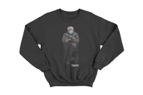 Bernie Sanders Just Dropped an Inauguration Meme Sweatshirt For Charity