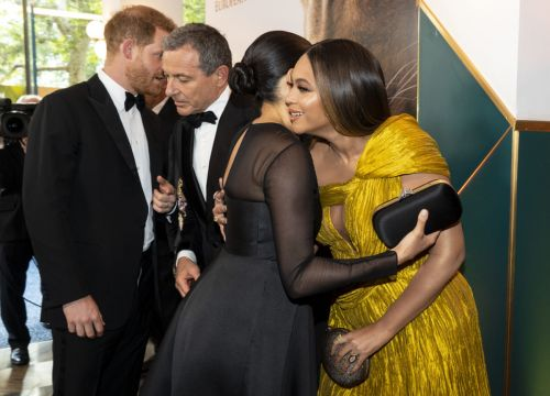 A Royal Reunion: Beyoncé And Meghan Markle Finally Meet!