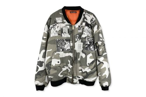 """Rough Simmons Reimagines Raf Simons' """"Riot"""" Bomber With 'Akira' References"""
