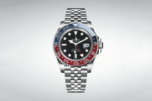 "Rolex Adorns the GMT-Master II ""Pepsi"" in Stainless Steel"
