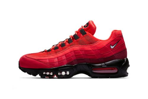 """Nike Air Max 95 Receives a Dash of """"Habanero Red"""""""