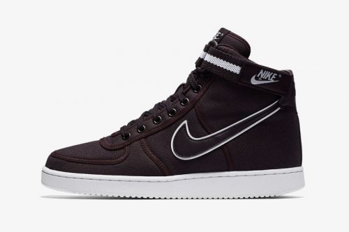 "The Nike Vandal High Supreme in ""Burgundy Ash"""