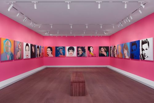"Lévy Gorvy Spotlights 42 Vivid Paintings Of ""Warhol Women"" in NYC"