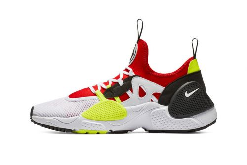 "Nike's Huarache E.D.G.E. TXT Gets a Vibrant ""University Red/Volt"" Overhaul"