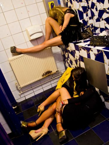 British teenage girls are some of the heaviest drinkers in Europe