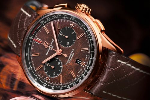Breitling Celebrates Bentley's 100 Year Anniversary With New Limited Edition Watch