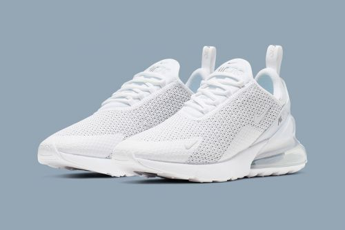 "Nike Refreshes the Air Max 270 in ""Pure Platinum"""