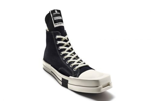 Rick Owens and Converse Reveal Square-Toed TURBODRK Chuck 70