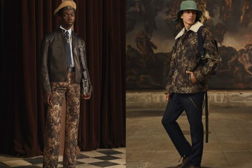 Louis Vuitton Pre-Spring 2021 Serves Luxe Looks Fit for Archaeological Exploration