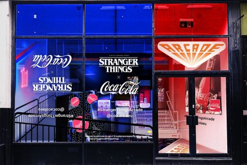 'Stranger Things 3' & Coca-Cola Announce London-Based Pop-Up Arcade