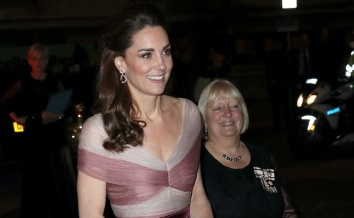 Kate Middleton Looks Pretty in Pink on Her Way to a Gala in London