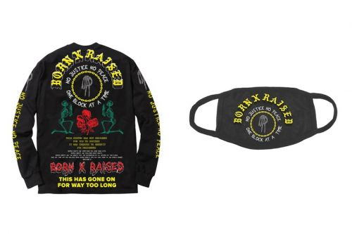 "Born x Raised Releases Charged ""No Justice, No Peace"" Capsule"