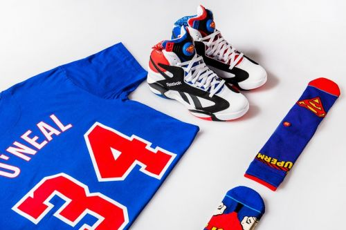 """Shoe Palace Salutes Shaq with 25th Anniversary """"Superman"""" Collection"""