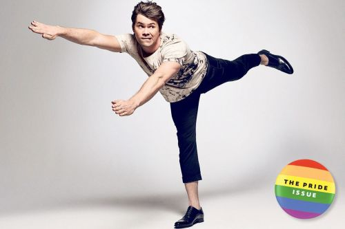 Out on the town with 'Boys in the Band' star Andrew Rannells
