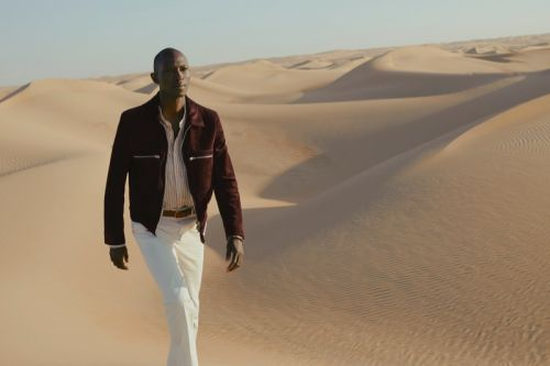 Armando Cabral, Felix Gesnouin & Robbi Gruendler Take to Desert for Mr Porter Spring '19 Campaign