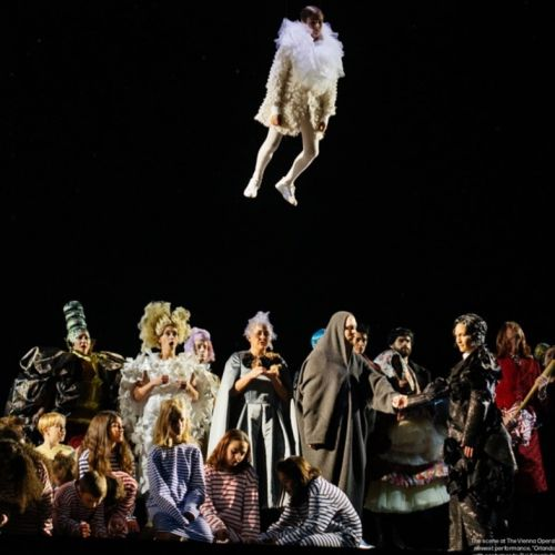 Rei Kawakubo costumed an opera performance of Orlando