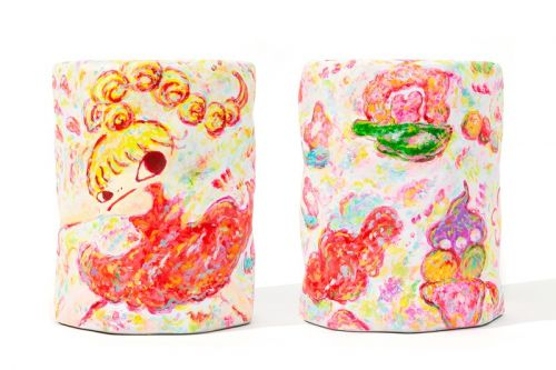 AllRightsReserved Links up With Rokkaku Ayako for 'Ceramic Stool'