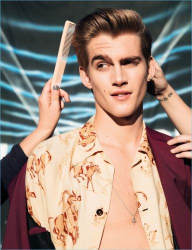 Presley Gerber Displays Star Power in Rollacoaster Shoot