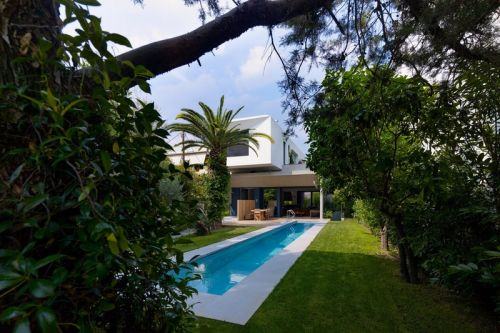This Grand Greek Home Is Located in a Mystical Garden