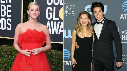 Lili Reinhart DGAF Cole Sprouse Went To The Critics Choice Awards With A Different Date And Supported Him Anyway