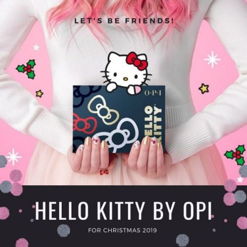 Hello Kitty by OPI for Christmas 2019
