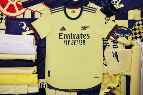 Adidas Looks to the Archive for 2021/22 Arsenal Away Kit