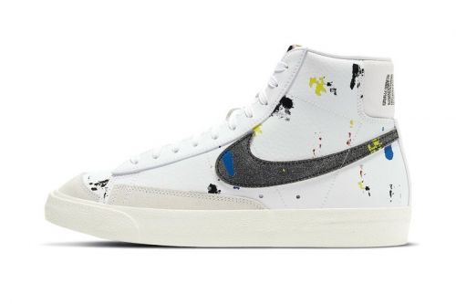Nike Is Dropping a Paint-Splattered Blazer Mid '77
