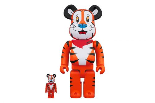 Tony the Tiger Immortalized in New BE RBRICK Figure
