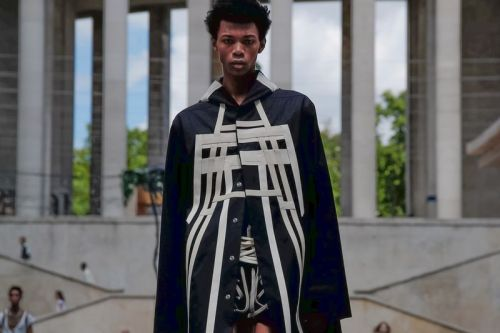 Rick Owens Delivers Bold Leather Looks at Paris Fashion Week Men's SS20 Presentation