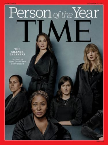 """Time names the women who broke their silence as """"Person of the Year"""""""