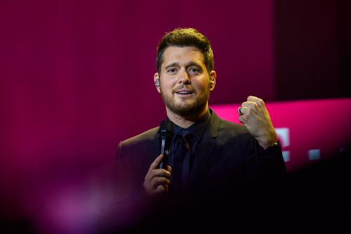 Fan upstages Michael Bublé at his own concert - but he's into it