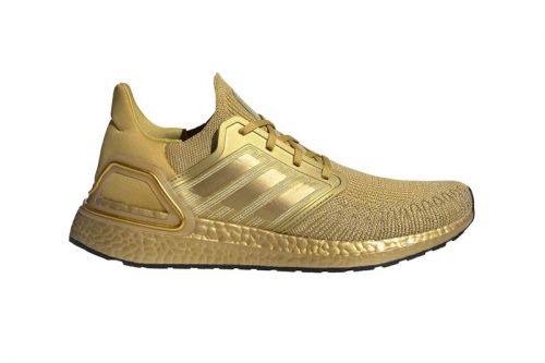 "Adidas Wraps ULTRABOOST 20 in Regal ""Metallic Gold"" Finish"