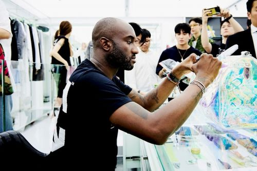 Virgil Abloh Previews Artwork With the Chicago Transit Authority