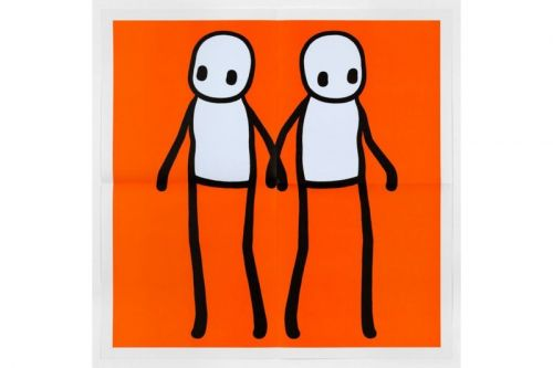 Graffiti Artist STIK Wanted to Gift Londoners 100,000 Prints but They Were Stolen