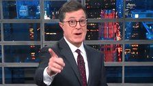 Stephen Colbert Has A Gruesome Theory About Donald Trump's Ideal Chief Of Staff